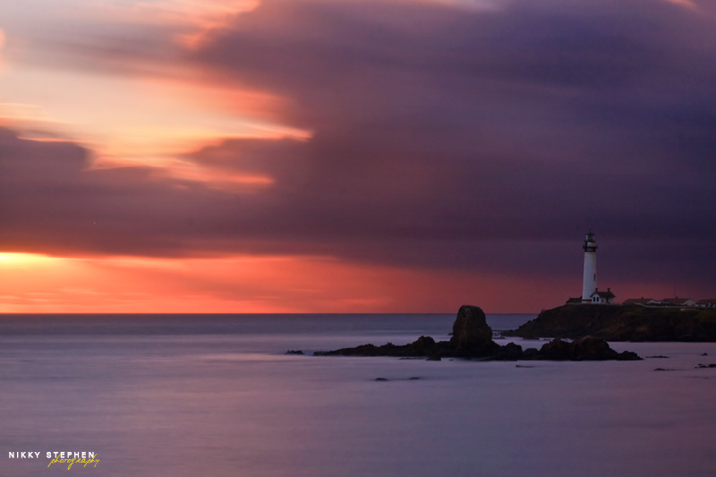 Pigeon Point Lighthouse by Nikky Stephen