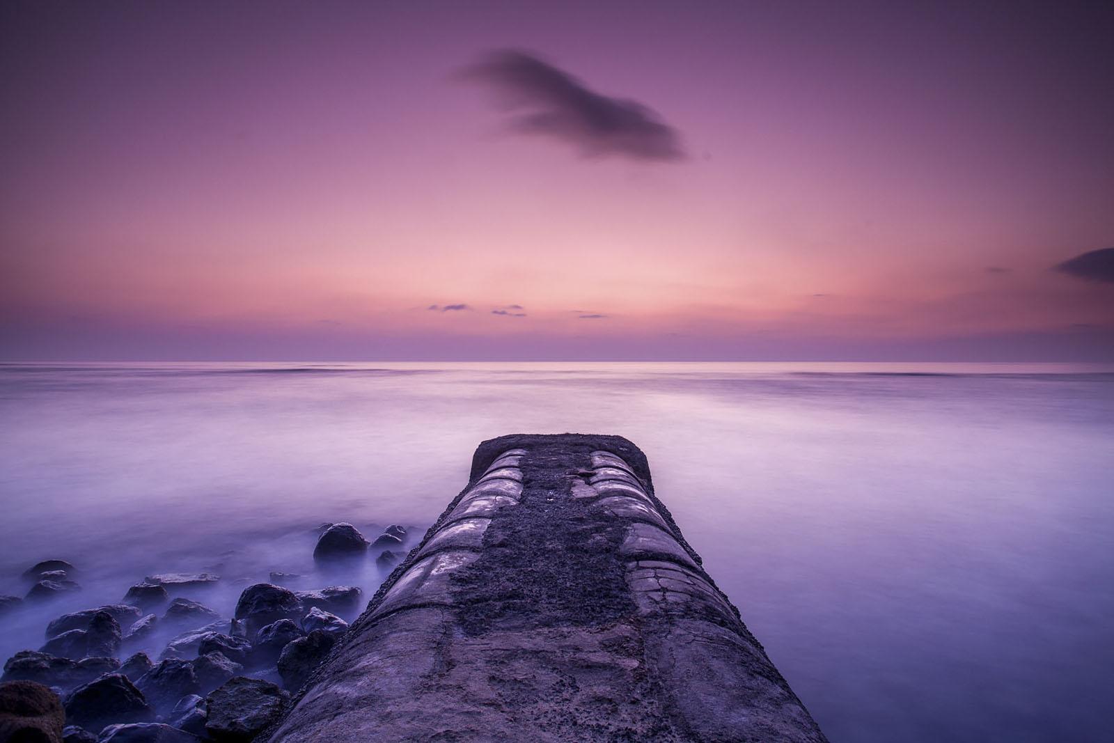 Sunset at O'ahu