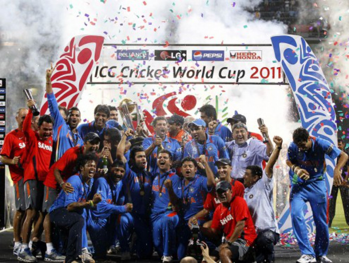 India wins Cricket World Cup 2011!