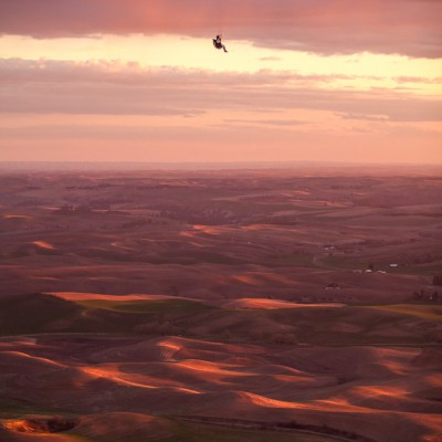 Paragliding in the Palouse