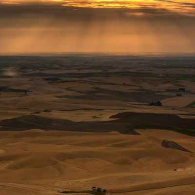 Sunset at the Palouse